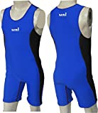 Wrestling Suit Men USI (Blue, M)