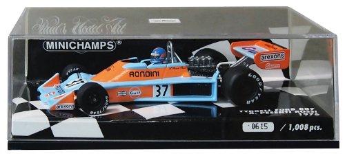 Minichamps-400760037-Fahrzeug Miniatur-Modell Maßstab-Tyrrell Ford 007-1976Gulf-Maßstab 1/43