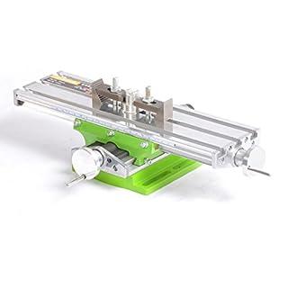 NRG Clever® BG6330 Präzisions-Kreuztisch mit Kreuztischschieber, für CNC, Säulenbohrmaschinen, Fräsmaschinen. Arbeitsstation 330x95mm.