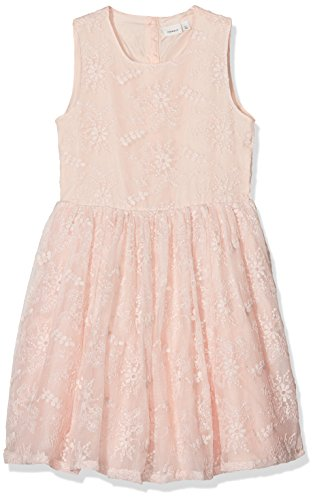 ILENCIA Spencer WL Kleid, Rosa Peachy Keen, 158 ()