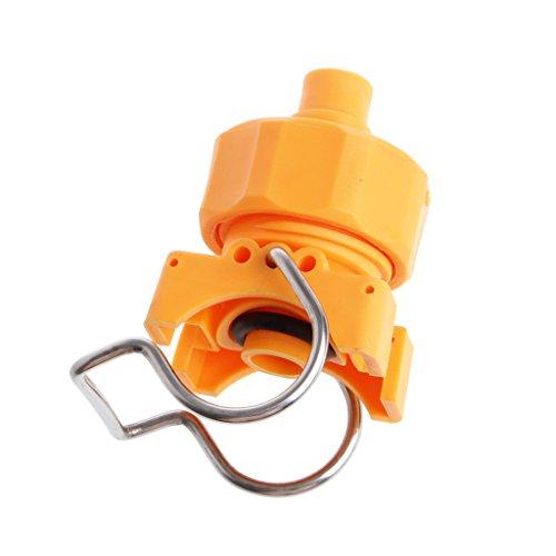 Dabixx Plastic Clip Kegel Düse Einstellbare Ball Flachventilator Volle Bewässerung Bewässerung - 6 Punkte (Voll-kegel-düse)