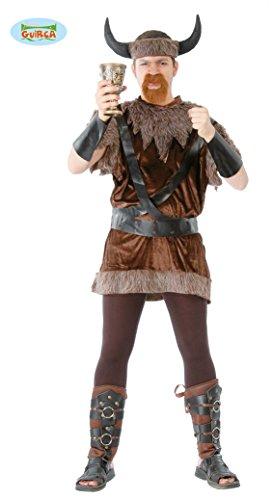 (Wikinger - Kostüm für Herren Gr. M-XL, Größe:XL)