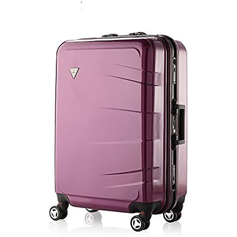 casa Monopoli Trolley valigia in alluminio caster uomini e donne