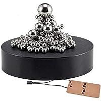 Funpa Bolas Magneticas, Escultura Magnética Escritorio Imán de Juguete Decoraciones de Escritorio para el Desarrollo de Inteligencia Estrés Ansiedad Alivio