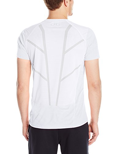 Under Armour–Maglietta Coolswitch Run manica corta White (100)