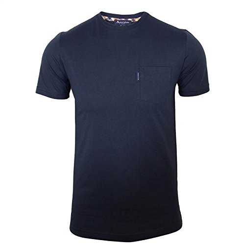 aquascutum-cullen-one-pocket-club-checked-t-shirt-large-navy