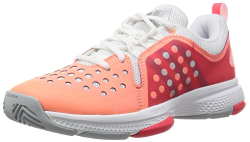 adidas Barricade Classic Bounce W - sunglo/msilve/shored, Größe:7 (Barricade 7 Adidas Damen)