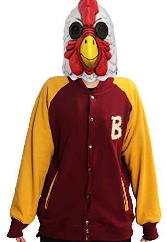 DealTrade Spiel Jacke Hoodie Kapuzenpullover Cosplay Kostüm Halloween Erwachsene Button Sweatshirt Kleidung Mantel ()