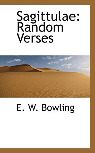 Sagittulae: Random Verses