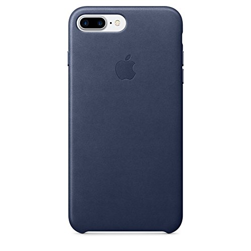 Custodia apple in pelle per iphone 7 plus - blu notte