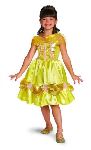 Disney Princess Belle Mädchen Fasching Kleid 114-116