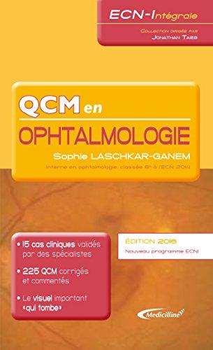 QCM en ophtalmologie 2016
