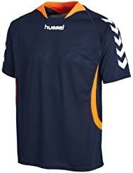 Hummel Team Player - Camiseta de equipo unisex, color azul oscuro (dark denim), talla XXL