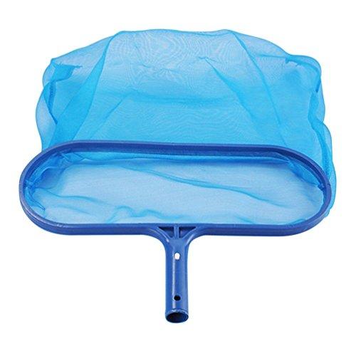 Wenwenzui Swimming Pool Spa Pond Leaf Skimmer Mesh Sturdy Plastic Frame Head Surface Netblue (Spa-net Skimmer)