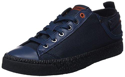 DIESEL Exposure Low I, Sneakers Basses Homme, Bleu T6055, 41 EU