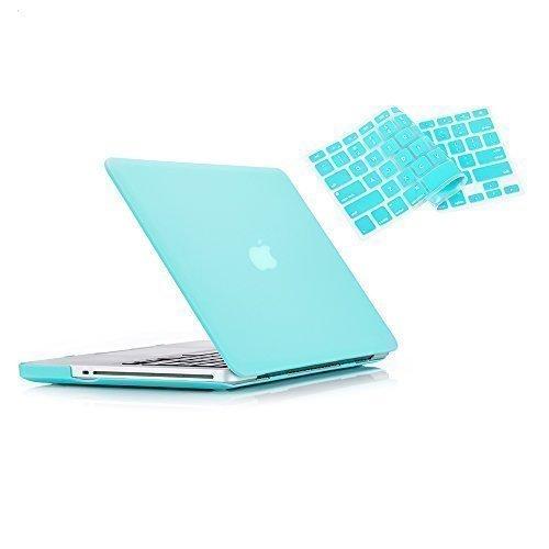 RUBAN-Pro 15Zoll mit CD-ROM 2in 1Hard Case und Tastatur Cover für MacBook Pro A128638,1cm (Fall nicht für Retina-Display) türkis Macbook Pro 15