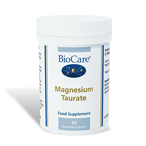 Biocare Taurate 915mg Magnesium (90mg elementares Magnesium) 60 Kapseln -