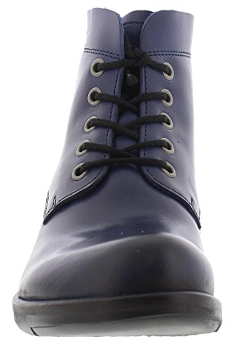 FLY London Damen Mesu780fly Kurzschaft Stiefel Blau