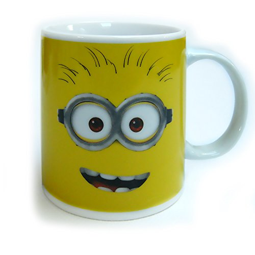 Minions – Taza de 320 ml, color amarillo
