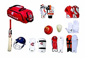 CW Complete Cricket Kit with full Range of Batting & Keeping Accessories in Senior Size
