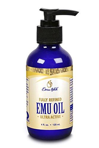 Emu Gold Emu Oil Certified Pure Grade A -- 4 fl oz by Emu Gold