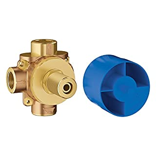 GROHE 29901000 Concetto 2-Way Diverter Rough-In Valve, Brass