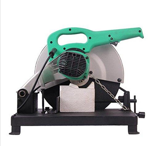 Gowe Chop Saw Scie 355 mm coupées 2300 W sec Scie à métaux 355 mm de scie électrique pour scie circulaire électrique en métal