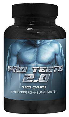 Pro Testo Trainingsbooster   VargPower   120 Kapseln   Ultra Testo Booster   Beliebt Bei Bodybuilder Männer   Komplex Made in Germany