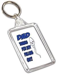 Funny Rude Humour Cadeau Dad – Porte-Clés – Anniversaire – Fête des Pères –  Noël – Merci pour ne… 4d02abe7aba