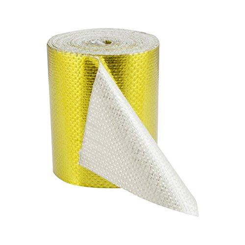 5m x 50mm Hitzeschutzband Hitzereflexionsband selbstklebend Gold Tape Klebeband reflektierend 450°C