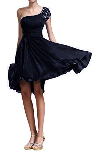 Royaldress Minze Gruen Kurzarm Ein-traeger Cocktailkleider Brautjungfernkleider Abendkleider Kurz Navy Blau