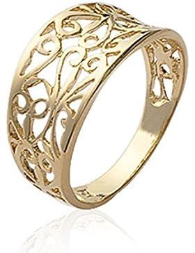 ISADY - Nelina Gold - Damen Ring - 18 Karat (750) Gelbgold platiert