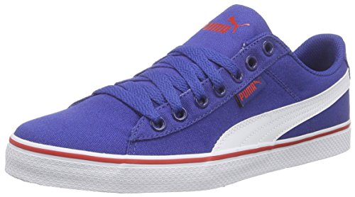 Puma Puma 1948 Vulc CV, Sneakers basses mixte adulte Bleu - Blau (limoges-white 02)