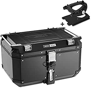 Givi SR3101 Carrier Black Monokey top-case with E251 Plate//max Additional Load 10 kg Suzuki DL 650 V-Strom YOM 11
