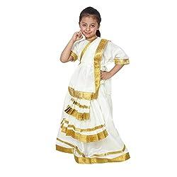 Shri Nikunj Raangoli Mohiniattam Girl Fancy dress/costume for kids