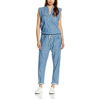 G-Star Women's Midge GS Skinny Jumpsuit, Blue (Light AGD RSTRD 26), Size 12 (Manufacturer Size:Large)