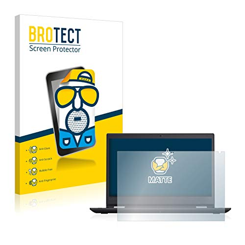 BROTECT Schutzfolie Matt kompatibel mit Lenovo TinkPad Yoga 370 - Anti-Reflex, Anti-Fingerprint, Anti-Kratzer