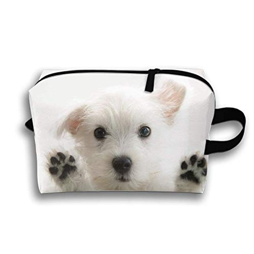 Adorable Dogs Pencil Case Zipper Coin Organizer Makeup Costmetic Bag Pouch (Dodger Gnome)