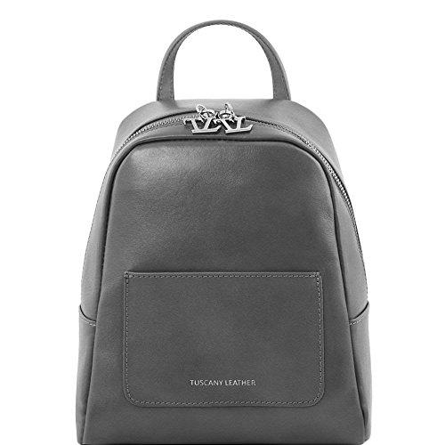 Tuscany Leather - TL Bag - Petite sac à dos en cuir pour femme - Miel