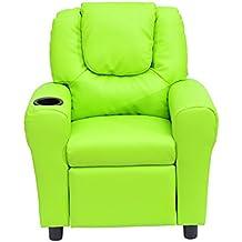 Outsunny - Poltrona reclinabile poltrona relax sedia