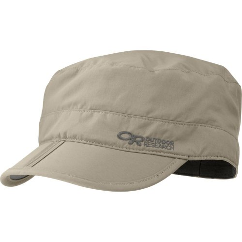 Outdoor Research Radar Pocket Cap, Farbe Khaki, Größe M (Outdoor Hüte Research)