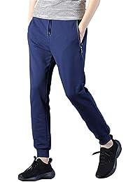 6052c109b8 Floweworld Herren Sporthose, Trainingshose Sweathose Jogger Taschen Motiv  Street Hosen Tethers elastische Gürtel Kleine Füße