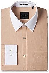 Park Avenue Mens Formal Shirt (8907575438752_PMSE09060-F4_39_Medium Fawn)