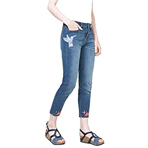 PANTALON DENIM MEDIUM LIGHT WASH