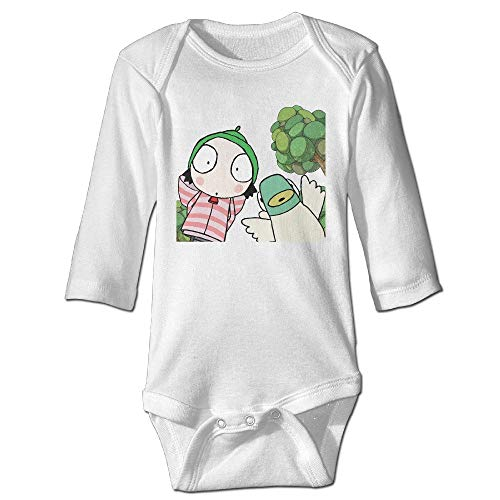 Junioren Long Sleeve Thermal (Bodys für Baby Lange Ärmel Baby Infants 100% Cotton Long Sleeve Toddler Bodysuit Sarah Duck Jumpsuit Clothes Tops Unique Design Newborn Sleepsuit Gift)