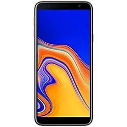 """Samsung Galaxy J4+ - Smartphone de 6"""" (Quad Core 1.4 GHz, RAM de 2 GB, Memoria de 32 GB, cámara de 13 MP, Android) Color Oro"""