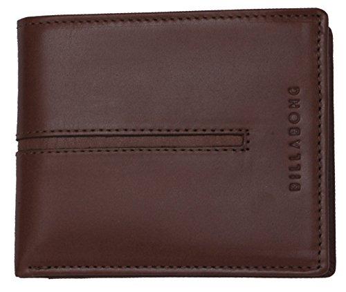BILLABONG 2017 Empire Leather Wallet TAN Z5LW02 - Fleece Polo
