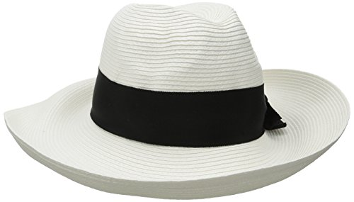 physician-endorsed-womens-adriana-toyo-straw-packable-hat-with-rated-upf-50-white-black-one-size