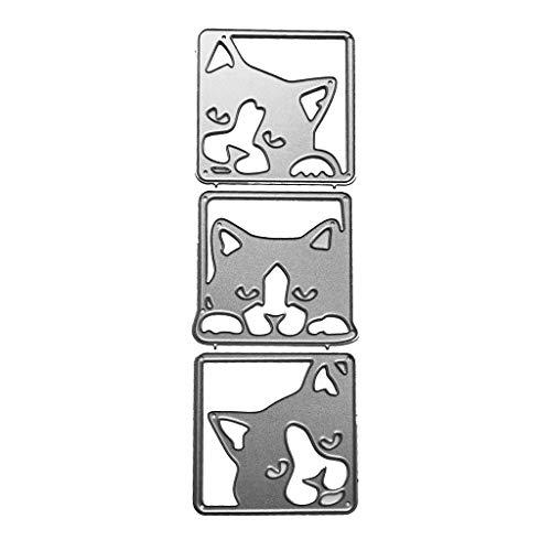 Stanzschablone Stanzen Schneiden Schablonen Stanzformen, für Sizzix Big Shot/Cricut Cuttlebug/und andere Stanzmaschine ()