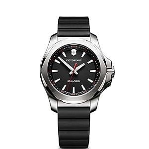 Victorinox Reloj Digital para Mujer de Cuarzo con Correa en Caucho 241768